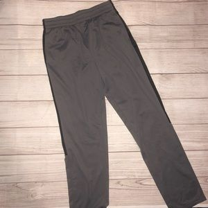 Brand New Men/'s Tek Gear Fleece Jogger Cuffed Sweatpants Size Ash Black XXL
